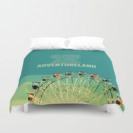 Adventureland Movie Poster Duvet Cover