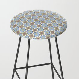 Moroccan Floris Bar Stool