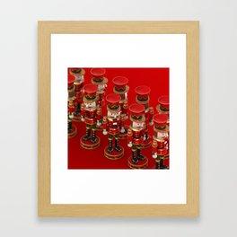 Nutcrackers Framed Art Print