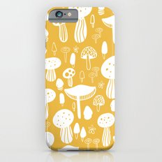Forest Mushrooms Yellow iPhone 6s Slim Case