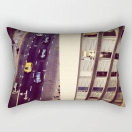 Up, Down Downtown Rectangular Pillow