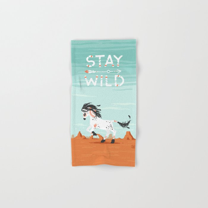 Stay Wild Hand & Bath Towel
