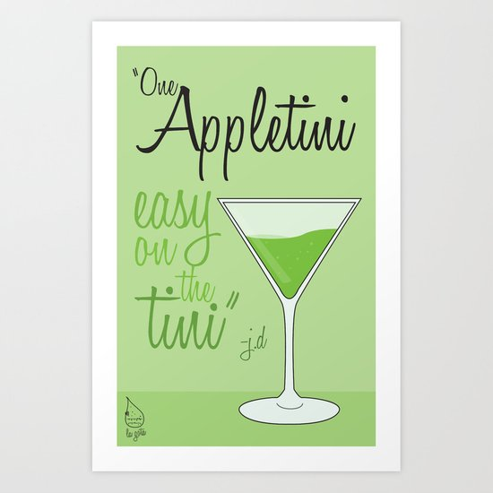 Tv drink quotes [ SCRUBS ] Art Print