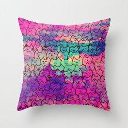 cats 609 Throw Pillow