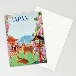 Vintage 1930s Japanese Travel Poster - Japan Stationery Cards