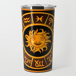 Astrological Star Signs Travel Mug