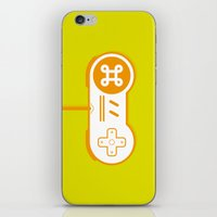 gaming iPhone & iPod Skins featuring Mac gaming by Marcos Chamizo