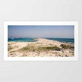Platja des Trocadors, Formentera Art Print