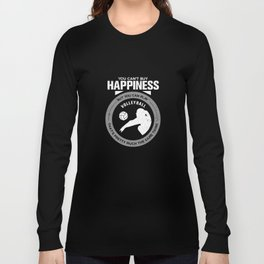 Volleyball Gift You Can't Buy Happiness But You Can Play Volleyball That's Pretty Much The Same Thin Long Sleeve T-shirt