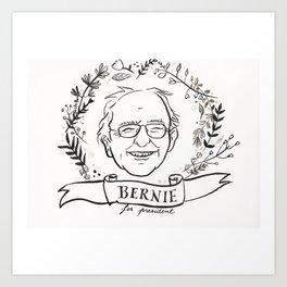 BERNIE SANDERS for president Art Print