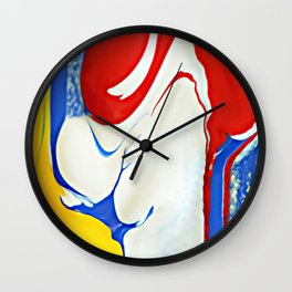 Watching Paint Dry Wall Clock