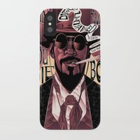 django iPhone & iPod Cases featuring Django Poster by eos vector