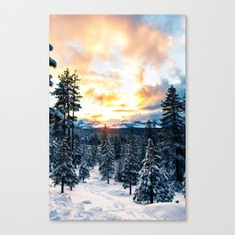 winter vibes #society6 #decor #buyart Canvas Print
