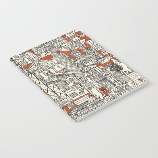 Hong Kong toile de jouy Notebook