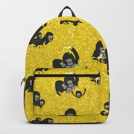 Gorillas and bananas by unPATO Backpack