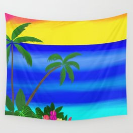 Beach Vibes Wall Tapestry