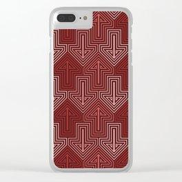 Op Art 115 Clear iPhone Case