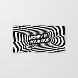 Money is your God | Pop Art Hand & Bath Towel