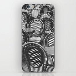 Chairs Under The Rain iPhone Skin