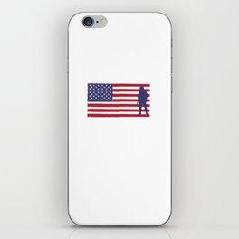 I'm Proud of My Veteran Grandpa Patriotic iPhone Skin