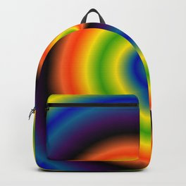 Gradient Bars Of Color Backpack