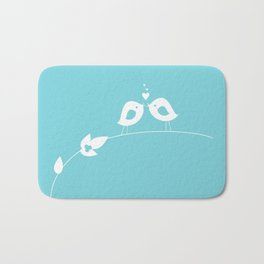 Love Birds Bath Mat