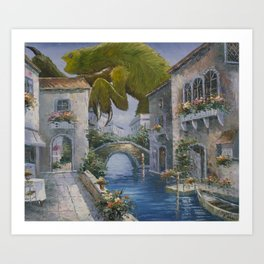Lovely This Time of Year Art Print