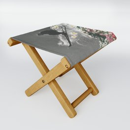 Spring Skiing Folding Stool