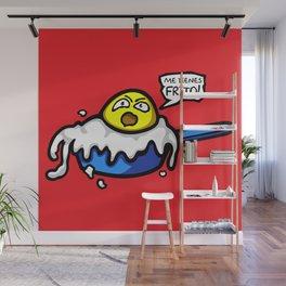 Fried Egg Wall Mural
