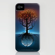 Tree, Candles, and the Moon iPhone (4, 4s) Slim Case
