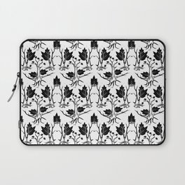 Pattern tree black Laptop Sleeve
