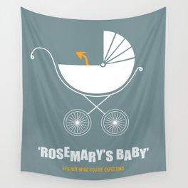 Rosemary's Baby - Alternative Movie Poster Wall Tapestry
