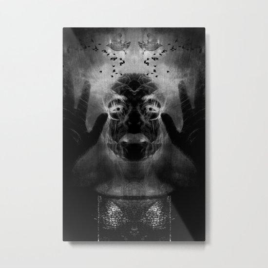 By the light of MY cauldron Metal Print