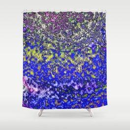 Multicolor Mandala Art Shower Curtain