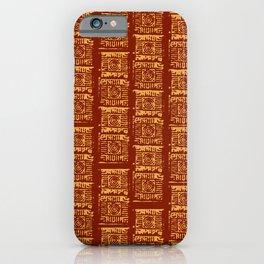 Lex Bricks Red iPhone Case