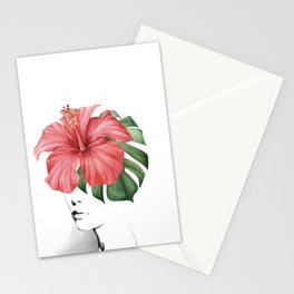 Hibiscus Stationery Cards