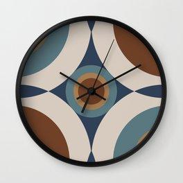 Rev Abstract Wall Clock