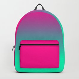 Pink and Green Gradient / GFTgradient003 Backpack