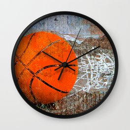 basketball art vs 91 Wall Clock