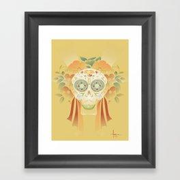 TEQUILA SMILE Framed Art Print