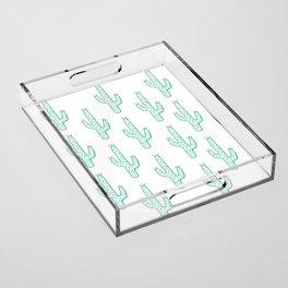 Cactus Acrylic Tray