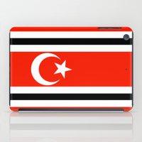 indonesia iPad Cases featuring aceh indonesia ethnic flag by tony tudor