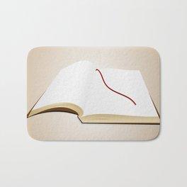 Open book Bath Mat