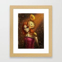 """""""Time After Time..."""" Framed Art Print"""