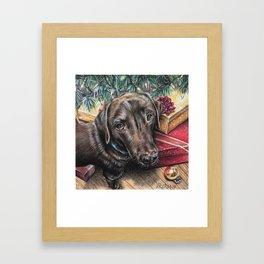 Best Christmas Present Ever Framed Art Print