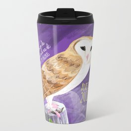 Totem Barn owl (GREFA) Metal Travel Mug