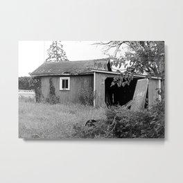 The Barn on Crissey Rd II Metal Print
