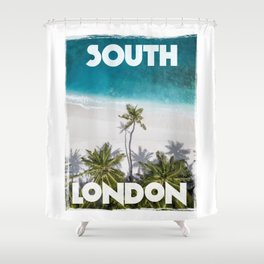 South London Shower Curtain