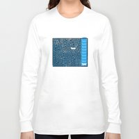 labyrinth Long Sleeve T-shirts featuring Labyrinth by Stoian Hitrov - Sto