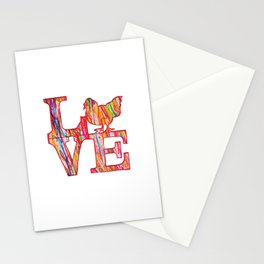 Chicken Love Stationery Cards
